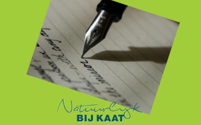Afvallen door te schrijven
