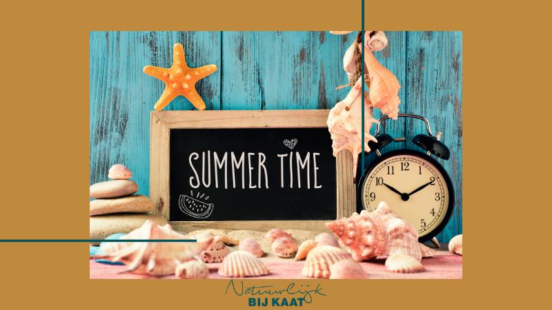 4 tips tegen een zomertijd jetlag